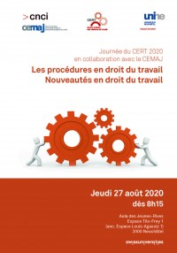 Les procédures en droit du travail - Nouveautés en droit du travail