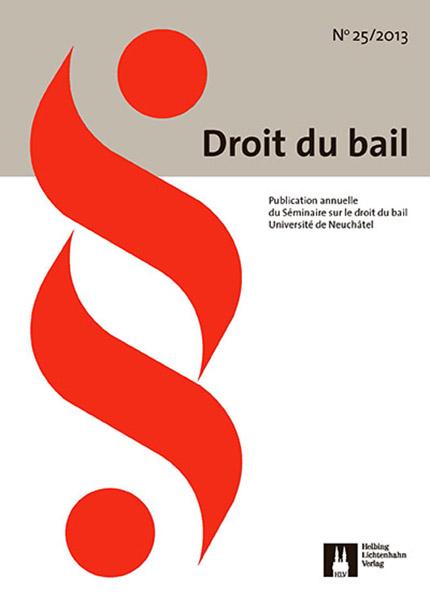Revue Droit du bail 25/2013
