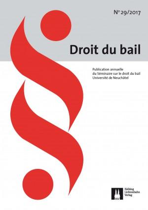 Revue Droit du bail 29/2017