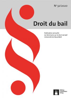 Revue Droit du bail 32/2020
