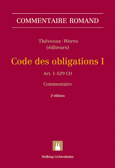 Commentaire romand CO I, 2e édition