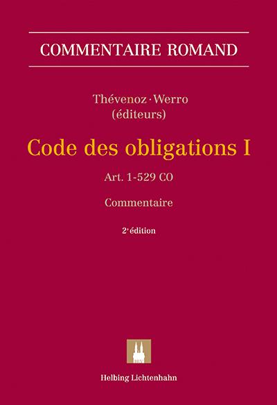 Commentaire romand CO I, 2e édition