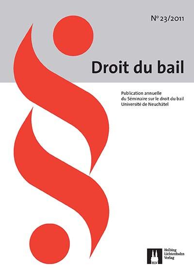 Revue en droit du bail 23/2011