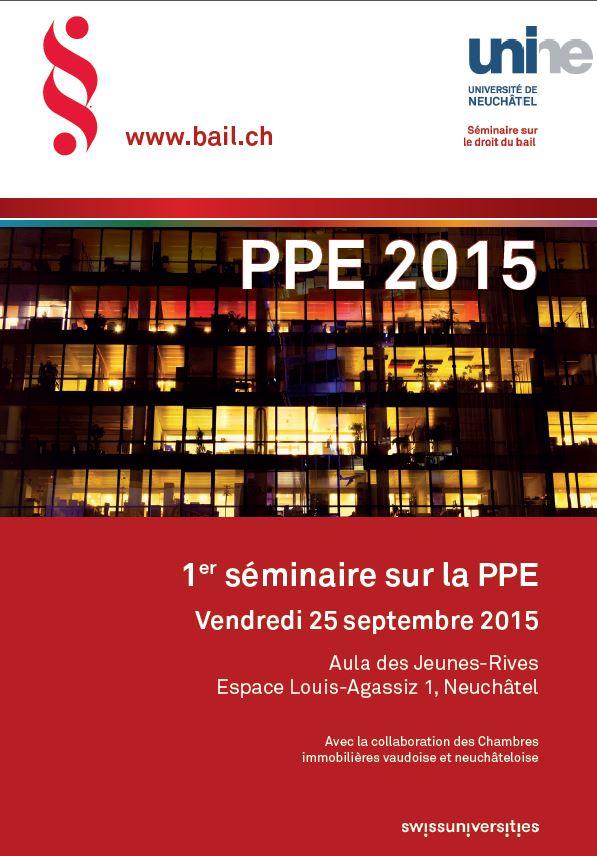 1er séminaire sur la PPE