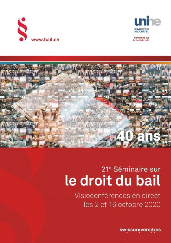 21e Séminaire sur le droit du bail en visioconférence